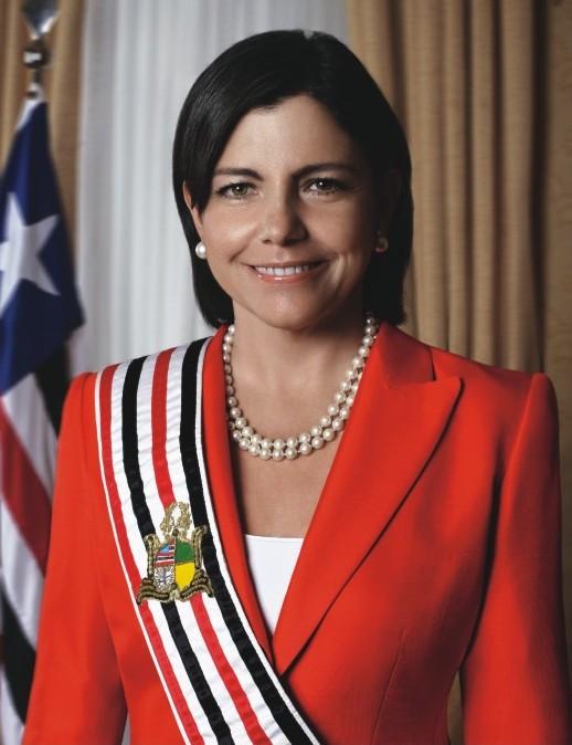 Roseana Sarney, quando comandava o Palácio dos Leões e distribuiu pastas para o comando do PCdoB