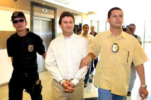 Alberto Youssef, quando de sua prisão Federal no Hotel Luzeiros, em março passado