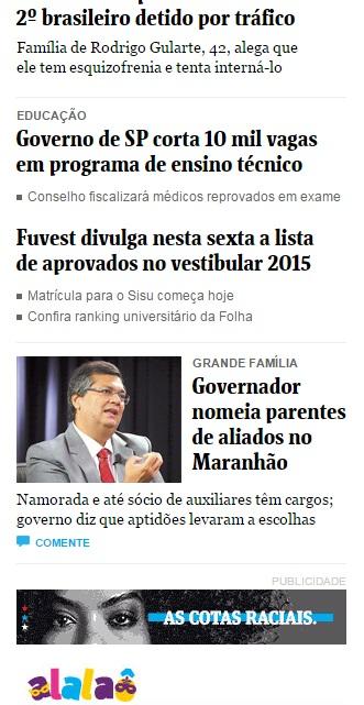 Nomeação de parentes de aliados feitas por Flávio Dino ganham destaque negativo