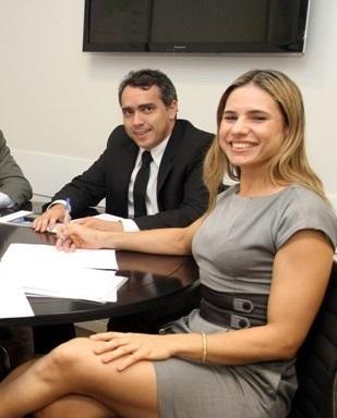 """Jardim alega que emprego a Joslene Rodrigues é por sua capacidade técnica: """"Ela é muita conhecida e respeitada em Brasília"""", jura."""