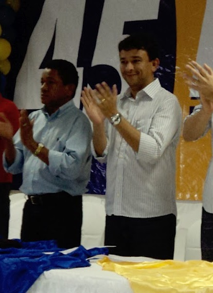 O ex-prefeito de Coroatá, Luís da Amovelar, e o indicado de Dino para a Superitendência de Redes da SES, Luis Barbosa Júnior, ambos condenados em um mesmo processo pelo TCE/MA