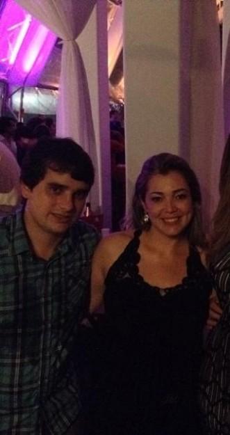 O genro e a filha da presidente do TJ-MA, Daniel Lauande e Pollyanna Silva Freire