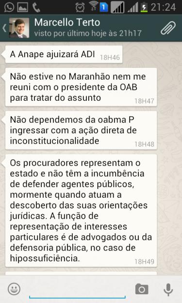 Marcelo Terto confirmou ao Atual7 que Anape ajuizará com ADI contra MP 185