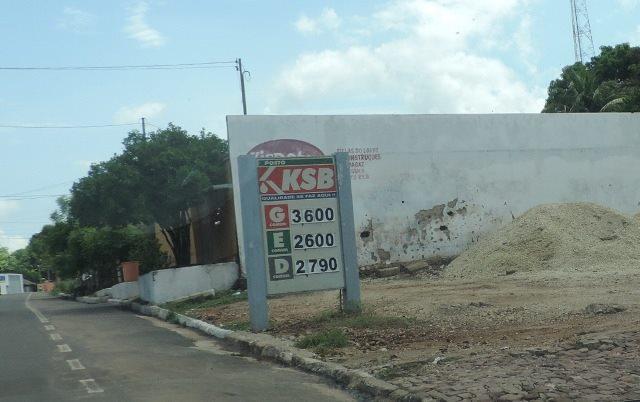 Aumento no preço da gasolina em Coelho Neto é um dos mais caros do estado