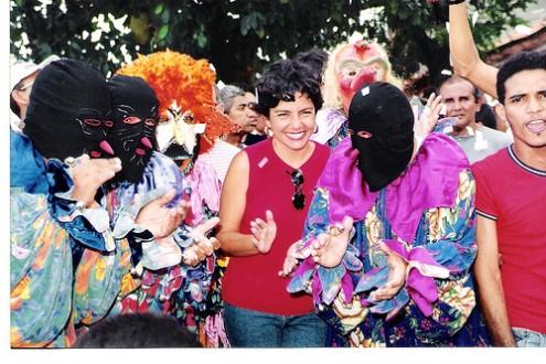 Fora ou dentro do governo, Roseana Sarney sempre prestigiou o Carnaval no Maranhão