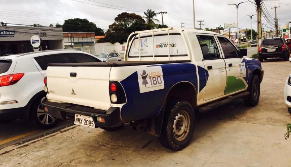 Carro oficial do governo do Maranhão é usado para comprar lanche