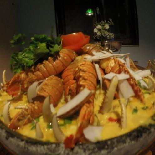 """""""Arroz do Mar"""", prato escolhido por Dino pra matar sua fome e de seus convidados no Palácio bancado com dinheiro público"""