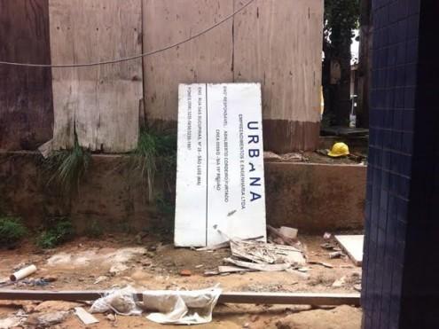 Empresa responsável pela obra não estaria cumprindo prazo de entrega, diz UFMA