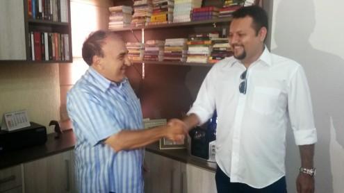 O prefeito Madeira e o seu ungido em parceria com o governador