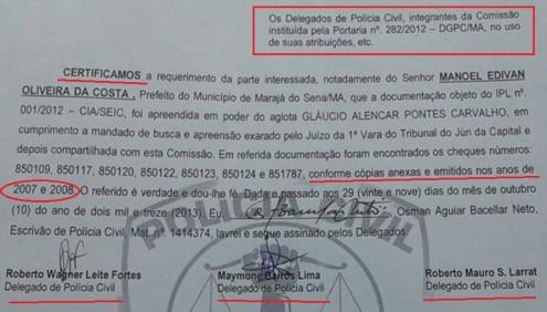 Prefeito de Marajá no Sena tentou se livrar da cadeia com base em uma certidão emitida estrategicamente pela Polícia Civil
