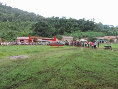 Chegdaa de Edivan Costa em Marajá no Sena, após vitória no TRE-MA