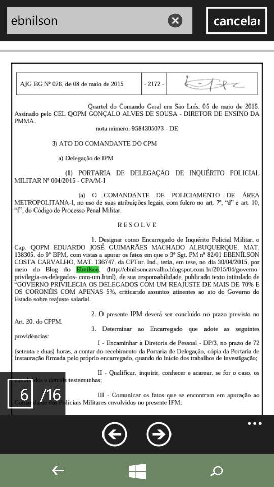 Abusando de seus poderes, governador Flávio Dino quer que militar exclua seu blog ou pare de criticar o governo
