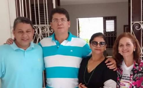 Secretário de Segurança Pública do Maranhão, livre, leve e solto na campanha da irmã à Reitoria da UFMA