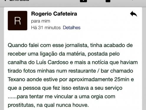 Nova agressão fez Rogério Cafeteira perder a condição de continuar na liderança do governo Flávio Dino