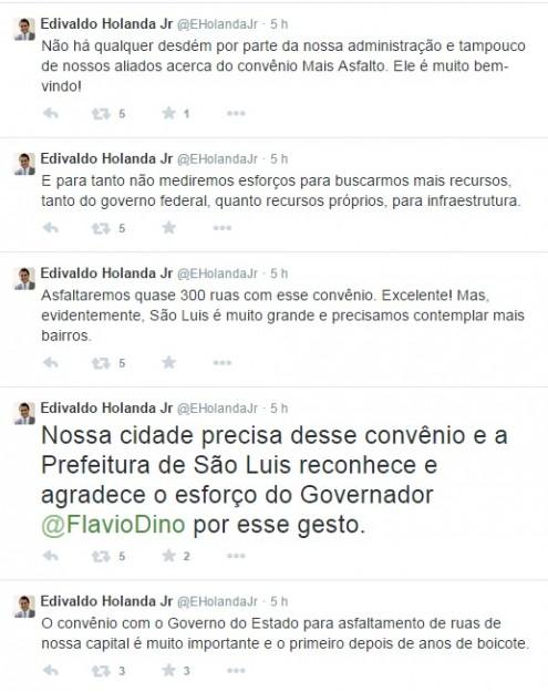 """Diferente do que declarou o pai, Edivaldo Júnior disse que os R$ 20 milhões """"é muito bem-vindo!""""a"""