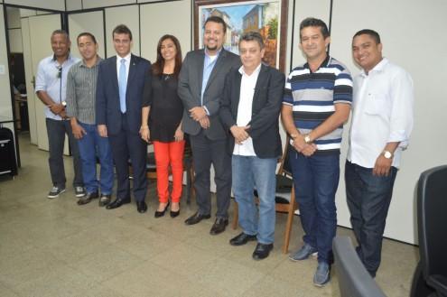 Glalbert com secretários estaduais e lideranças políticas de Cantanhede