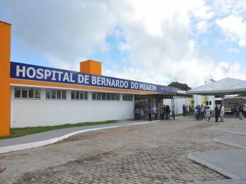 Hospital de Bernado do Mearim, antes de fechar no início deste ano, por falta dos R$ 100 mil que deveriam estar sendo repassados pelo governo Flávio Dino