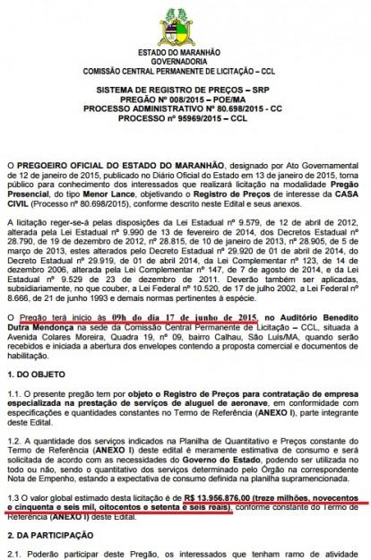 Embora alegue que o Estado esteja com os cofres sucateados, Dino vai torrar mais de R$ 13,9 milhões com aluguel de aeronaves