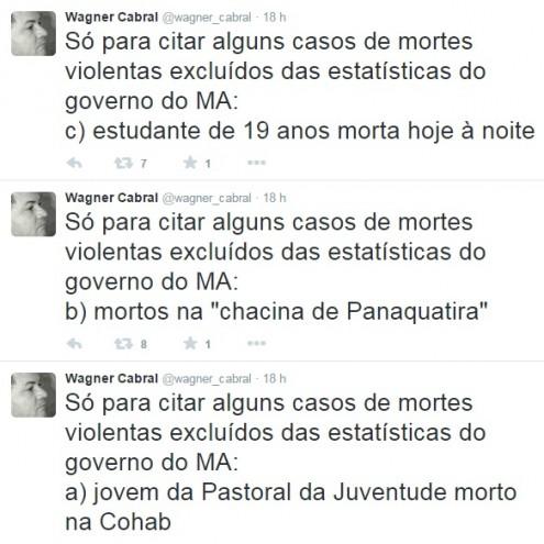 Governador Flávio Dino mentiu sobre números de mortes violentas ocorridas em 2015