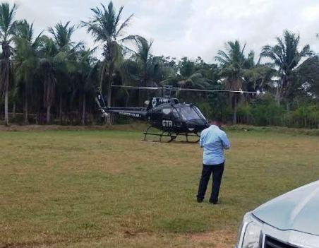 Como no governo Roseana, helicóptero do GTA ficou parado, aguardando o chefão do Maranhão