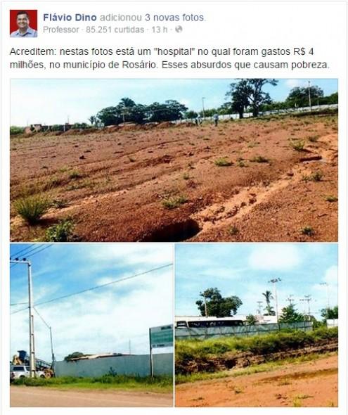 No Maranhão, governador que vai para as redes sociais acusar empresa de corrupção é o mesmo que contrata a mesma empresa por mais de R$ 23,5 milhões