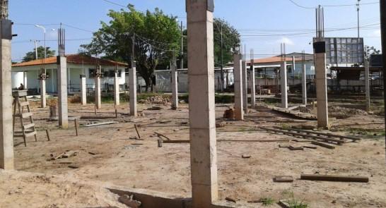 Obras de reforma no Hospital da Criança, que deveriam ser finalizadas em fevereiro do ano que vem, estão paralisadas. Verba federal já foi toda repassada