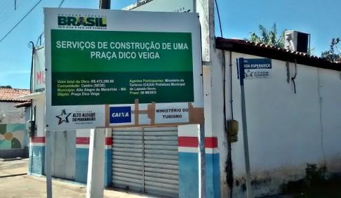 No Maranhão, prefeito utiliza recursos do município para executar obras em outra cidade