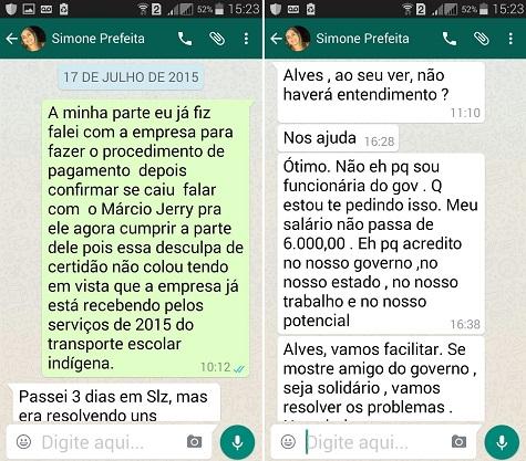 Assessora de Flávio Dino é flagrada em conversa sobre propinagem para liberação de pagamento para prestadora de serviço à Seduc