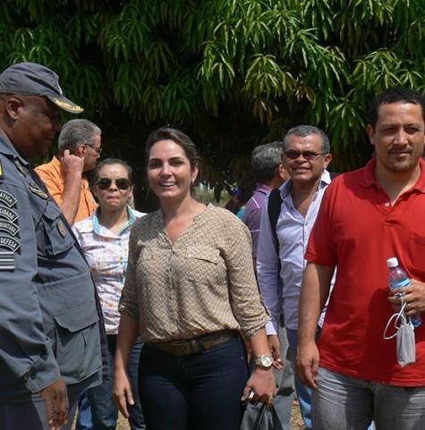 A assessora de Flávio Dino, Simone Limeira, responsável pelas questões indígenas em todo o estado