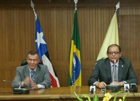 Carlos Alberto e Humberto Coutinho: relação que vem de Caxias é mais forte que domínio de Márcio Jerry