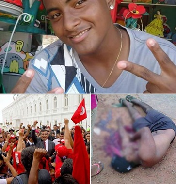 Fagner dos Santos, de 19 anos, foi morto durante desocupação de terreno em São Luís