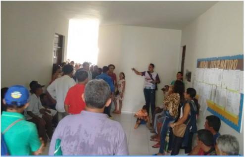 Vera e outras autoridades do município abandonaram o prédio do Executivo municipal diante da chegada de manifestantes