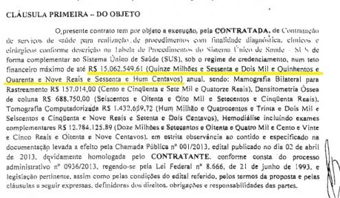 Só em um dos lotes, mais de 15 milhões de reais caíram na conta da empresa da oligarquia Coutinho