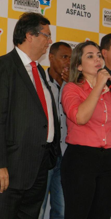 Propineira confessa, Simone Limeira discursa em Grajaú, em ato oficial do Governo do Maranhão