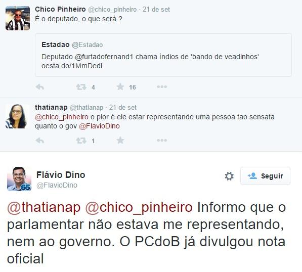 Flávio Dino diz que Furtado não o representava; Faema diz o contrário