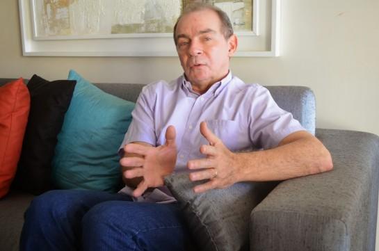O ex-chefe da Casa Civil, João Abreu, que tem prerrogativas de prisão por ser advogado