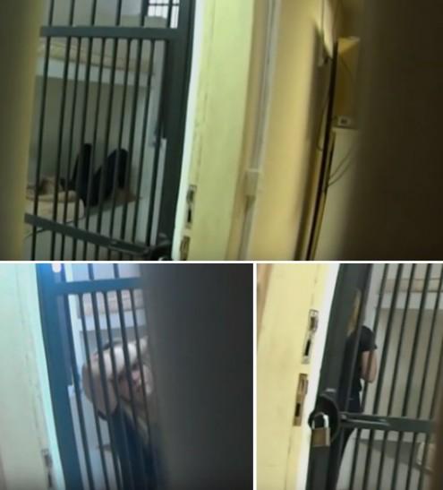 Ex-prefeita de Bom Jardim, durante os poucos minutos em que chegou a ficar presa em cela comum de Pedrinhas