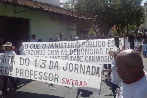 Manifestantes questionam falta de interesse do MP-MA: o que estão fazendo com as denúncias?