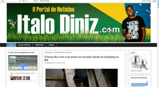 Blogueiro Ítalo Diniz foi assassinado a tiros na cidade de Governador Nunes Freire