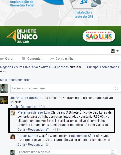 Sem rodeios, mas de forma discriminatória, a própria Prefeitura de São Luís esclarece que moradores e trabalhadores da Zona Rural, embora paguem impostos para a prefeitura da capital, não terão acesso ao benefício
