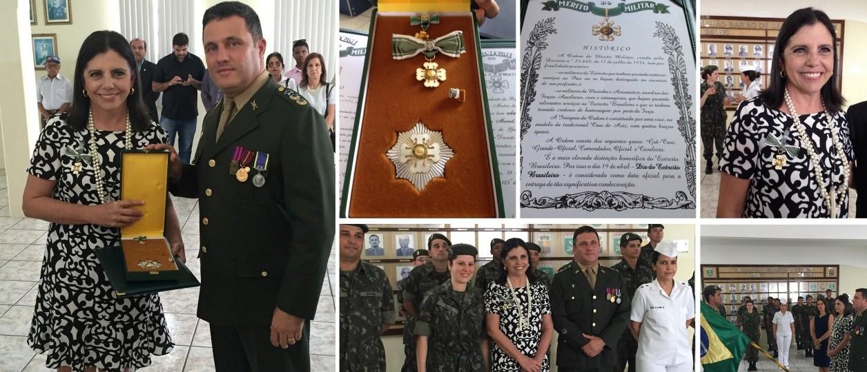 Roseana Sarney recebe Ordem do Mérito Militar do Exército Brasileiro