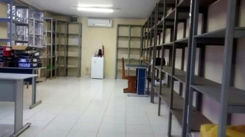 Sala onde deveriam estar os documentos da administração foi encontrada vazia pelo prefeito Juscelino Oliveira