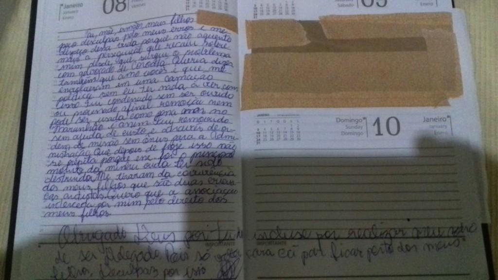 Veja a carta deixada por delegado que se matou em Teresina