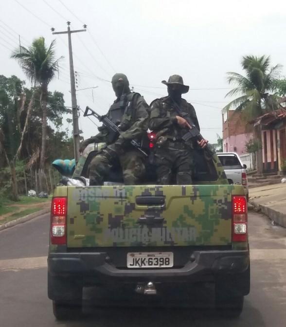 Após trabalhos em Icatu e Morros, homens da Cosar já estão a procura dos assaltantes de banco que tocaram o terror em Paraibano e em Alcântara