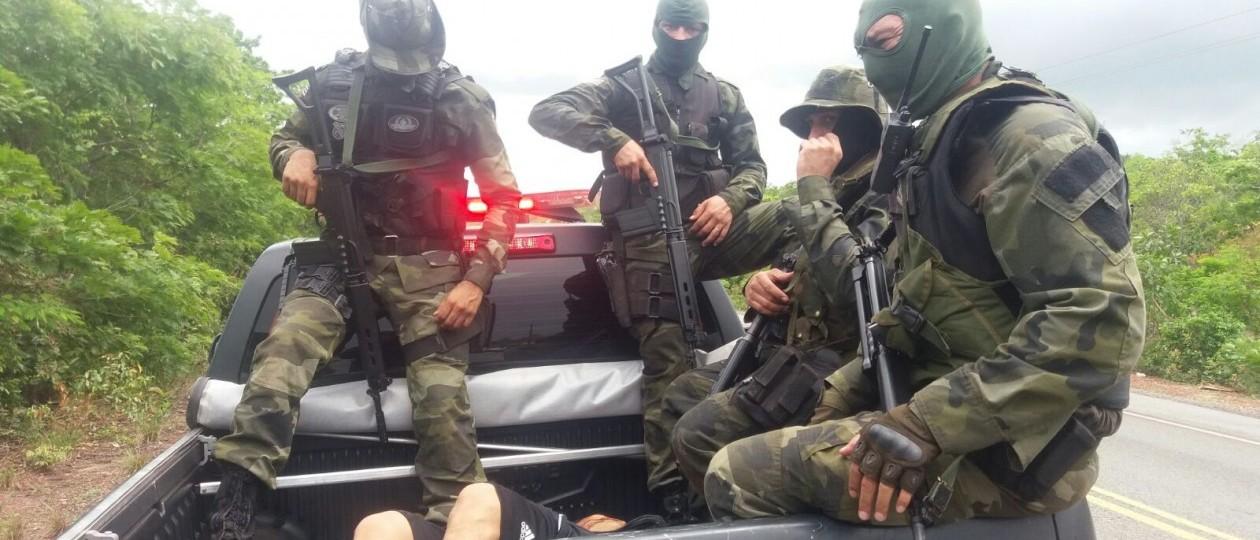 Grupo especial da PM começa a exterminar assaltantes de banco no MA