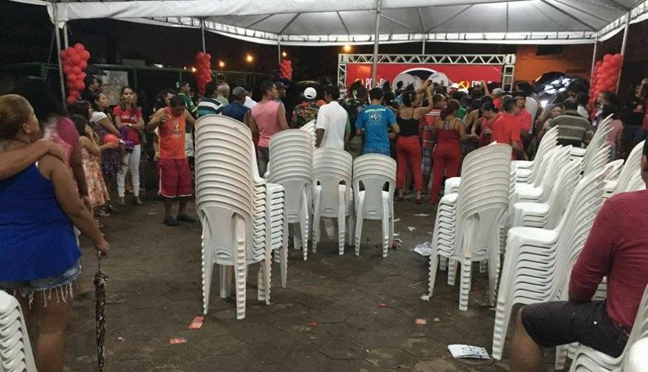 Fracassa evento de Flávio Dino e Domingos Dutra em Paço do Lumiar