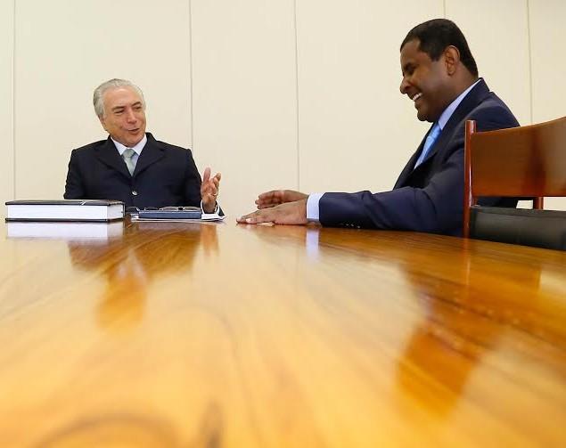 Michel Temer elogia Fábio Câmara e reforça candidatura própria do PMDB em São Luís