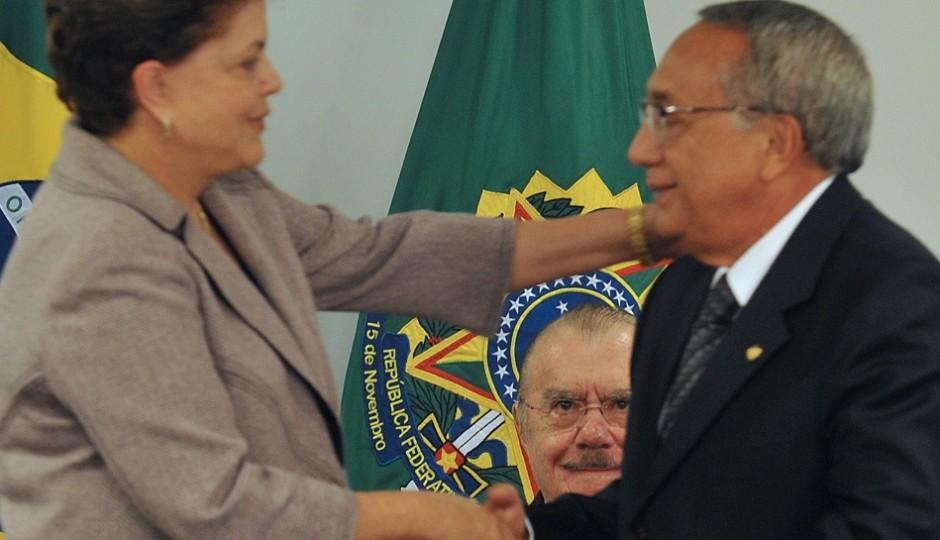 Nomeação de Gastão articulada como passo para reaproximação entre Dilma e Sarney