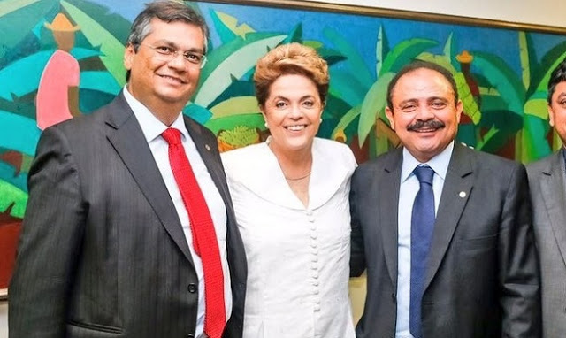 Mais da metade do salário recebido por Maranhão como fantasma da Uema foi embolsado no governo do aliado Flávio Dino