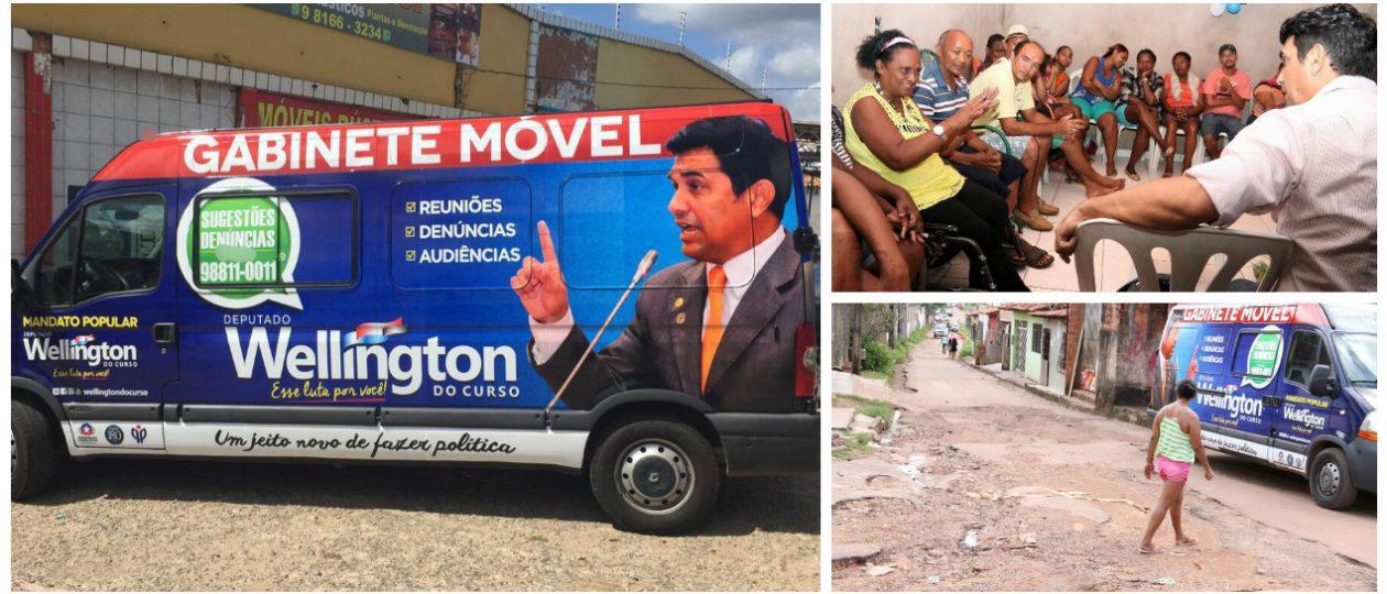 Gabinete Móvel já atendeu moradores de mais de 20 bairros em São Luís